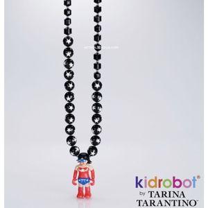 Tarina Tarantino Superwoman kidrobot necklac